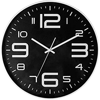 Big 3D Number 12 IN Wall Clock Quiet Sweep Movement Decorative Wall Clocks  For Living Room Part 41