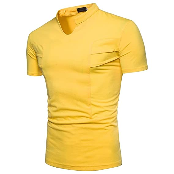 WINWINTOM Moda de Verano Camisetas, 2018 Camisetas y polos De Hombre, Moda Personalidad Hombres