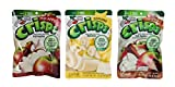 Brothers-ALL-Natural Gluten Free Freeze Dried Fruit Crisps 3 Flavor Variety 6 Bag Bundle, 2 each: Fuji Apple, Apple Cinnamon, Banana.35-.56 Ounces
