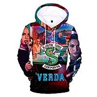 Sunblack Riverdale 3D Unisex Cool Style Hoodies Fashion Logo Clothes Women/Men Hoodies and Sweatshirts Plus Size 4XL