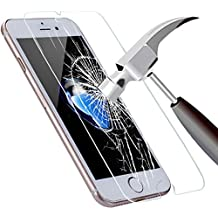 iPhone 7 Plus Tempered Glass, WwWSuppliers Crystal Clear Transparent 9H Shatterproof Anti-Scratch Fingerprint Resistant Screen Protector ~ Protector de Pantalla Vidrio Cristal