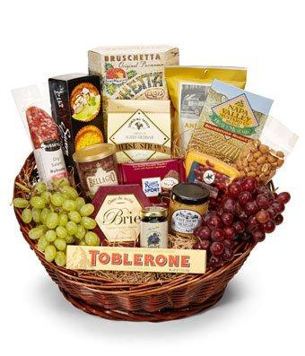 Fabulous Basket - Same Day Birthday Gift & Snack Basket Delivery - Gourmet Gift Baskets - Birthday Snack Gift Baskets - Gourmet Chocolate Gift Baskets - Birthday Chocolate Food Gift Baskets