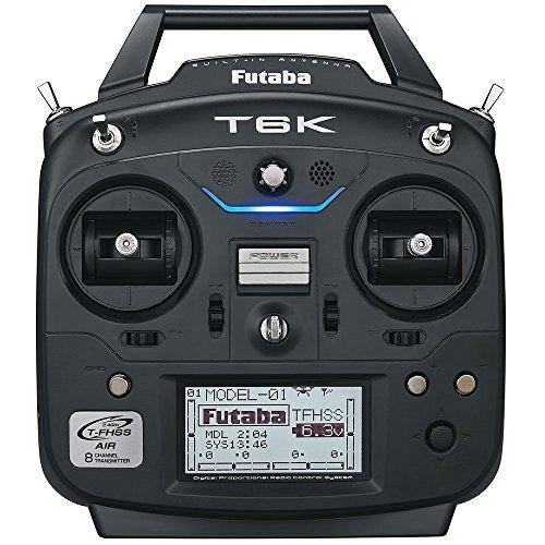 Futaba 6K V2 2.4GHz TFHSS 6-8 Channel Digital Proportional RC FPV Transmitter Tx System for FPV with R3001SB S.Bus Rx Receiver