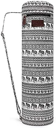 Fremous Yoga Mat Bag,Full-Zip Exercise Yoga Mat Carry Bag for Women and Men - Double Storage Pocket,Easy Acces