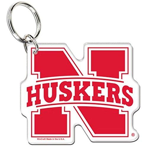 - NCAA University of Nebraska Cornhuskers Premium Acrylic Key Ring