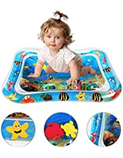 LEADSTAR Water Play Mat Water Cushion Inflatable Water Pad Baby Tummy Time Toys Splash Pad Fun Activity Play Center for Children and Infants
