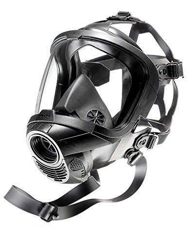 German Civilian Draeger FPS 7000 Full Face Mask, Medium, Highly Chemically Resistant EPDM Rubber. Excellent  for Hazardous Conditions With Poor Visibility by Drager (Image #5)