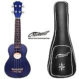 Makanu Soprano Ukulele Mahogany Hawaiian Ukulele Kids Guitar for Professional - Matte Finish