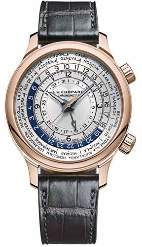 Chopard L.U.C. Time Traveler One Watch, 42mm Rose Gold