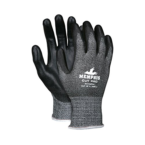 MCR Safety Cut Pro PU Coated Gloves, X-Large (60 Pair)