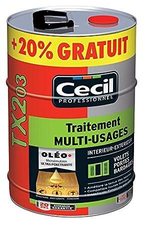 Cecil   Traitement Bois Exterieur Tx 203   Cond. L.5