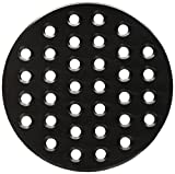Music City Metals 99901 Cast Iron Heat Plate Replacement for Gas Grill Model Big Green Egg large
