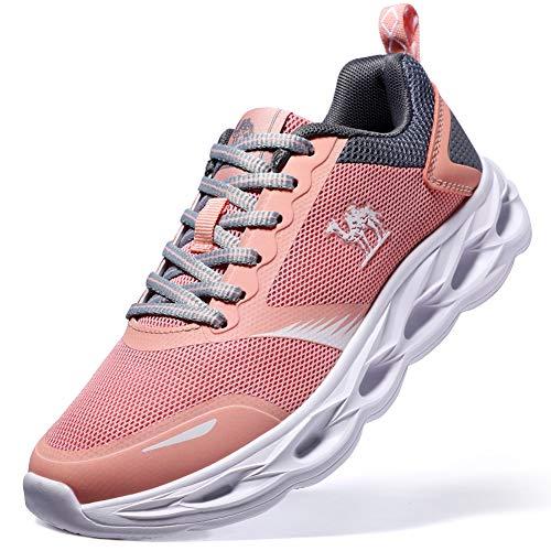 La Antiurto Traspirante Ginnastica E Sportiva Camminata Rosa Versione Sneakers Crown Camel Ultima Leggera Da Running Donna Scarpe Trail Per qSpPwnOzx