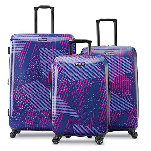 (American Tourister 3-Piece Set, Purple Storm)