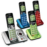 Best Home Phone Systems - VTech CS6529-4B 4 Handset Answering System with Caller Review