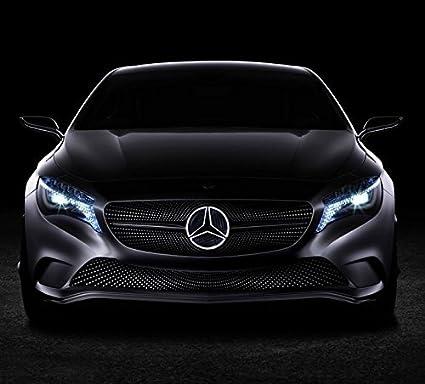 Mercedes benz light up emblem