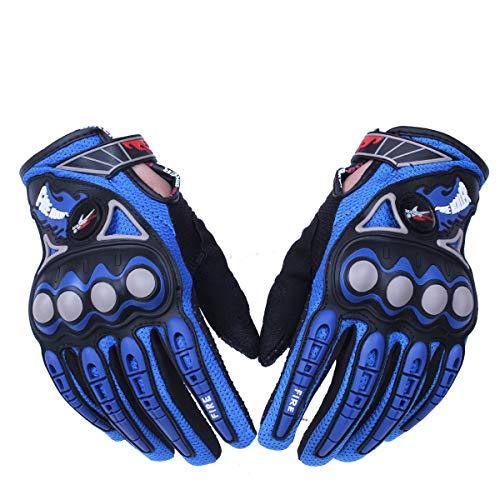 FHJKLLL Gloves Outdoor Sports Motorcycle Full Finger Motorbike Motocross Protective Gear Racing for Men