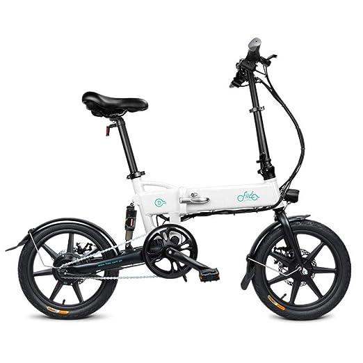 FIIDO D2 Bicicleta eléctrica Plegable -Motor 250W, 25 km/h, 7.8AH ...