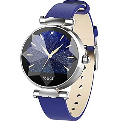GoYisi Smart Wristbands B80 1 04 inch IPS Color Screen Smart Bracelet IP67 Waterproof Leather Watchband Support Call Reminder Heart Rate Monitoring Blood Pressure Monitoring Sedentary Reminder Sl Estimated Price -