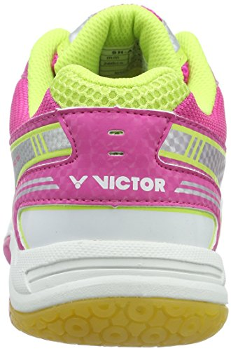 Victor Bianco Rosa Volano Scarpe Sh a610l Bianco Rosa Adulti Unisex 6nv6qt8w4