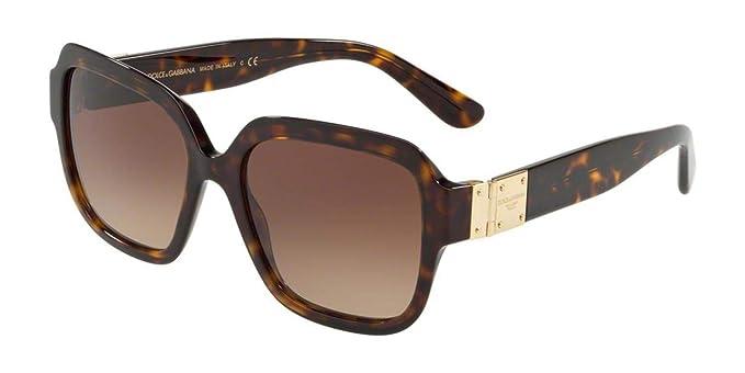 Dolce e Gabbana 0DG4336, Gafas de sol para Mujer, Havana 56 ...