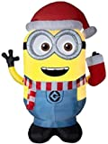 Gemmy Universal 8.99-ft x 4.69-ft Lighted Minion Christmas Inflatable