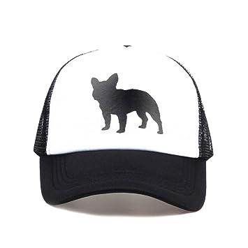 Yhtdhaq Bulldog Imprimir Gorra de béisbol Sombrero para Mujeres ...