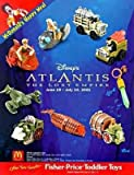 McDonalds - Atlantis Happy Meal Set - 2001