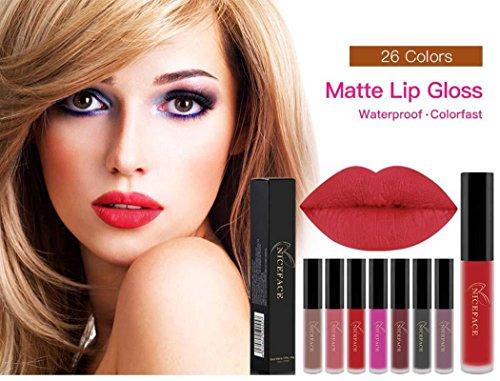 Chiak 26 Colors Matte Lip Gloss Makeup Cosmetic Long-lasting Lip Tint Lipstick