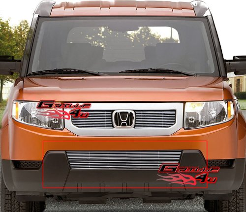 APS Fits 09-11 2011 Honda Element Lower Bumper Billet Grille Insert #N19-A09666H