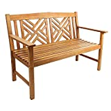 Achla Designs Fretwork Patio Bench