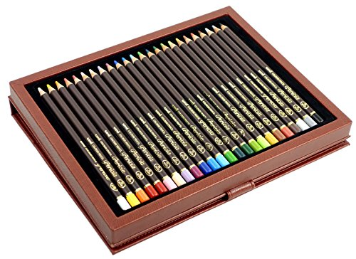 Mitsubishi Pencil Co., Ltd. colored pencil Uni colored pencil Perishia 24 color set UCPPLC24C