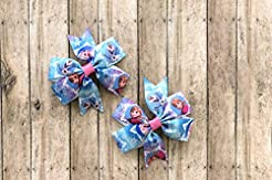 Frozen Hair Bow Set by Inspired Bows