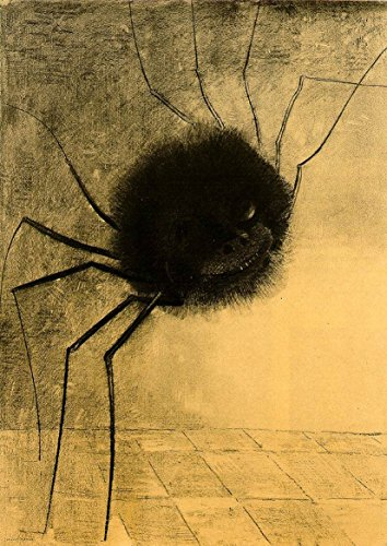- Odilon Redon: The Smiling Spider. Fine Art Print/Poster. Size A1 (84.1cm x 59.4cm)