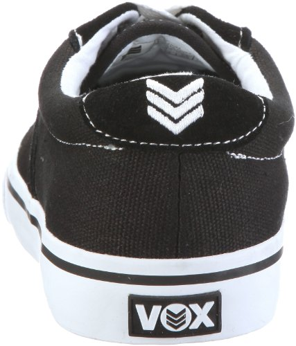 Vox Footwear Mens Savey Scarpa Da Skate Nero / Bianco