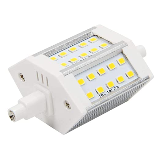 Amazon.com: SODIAL(R) R7S 15W 30 SMD 78Mm 2835 SMD LED Light Bulb Non-Dimmable Warm White: Home Improvement