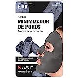 Kiss NY Professional Máscara Facial de Bambu - Carvão, Kiss New York Professional