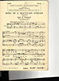 img - for Song of a Mountain Stream . Two-part Song with Piano book / textbook / text book
