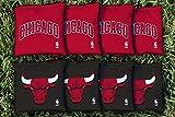 NBA Replacement All Weather Cornhole Bag Set NBA Team: Chicago Chi Bulls