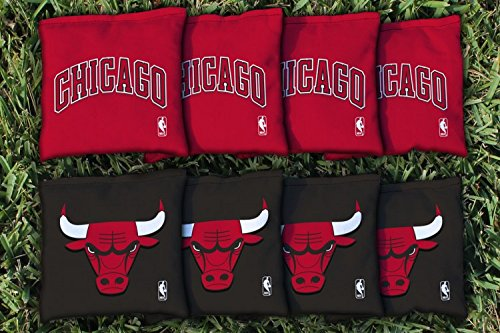 NBA Replacement All Weather Cornhole Bag Set NBA Team: Chicago Chi Bulls