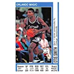 1991-92 Panini Stickers Basketball #73 Otis Smith Orlando Magic 2 inch by 3.