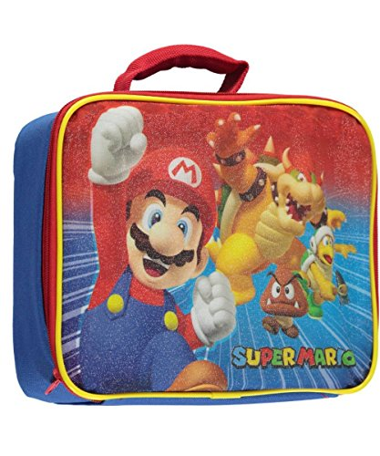 Super Mario Soft Lunch Box (Mario & Bowser) -