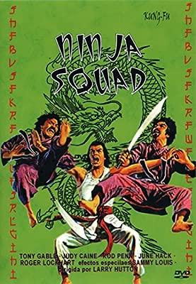 Ninja Squad [DVD]: Amazon.es: Tony Gable, Judy Caine, Rod ...
