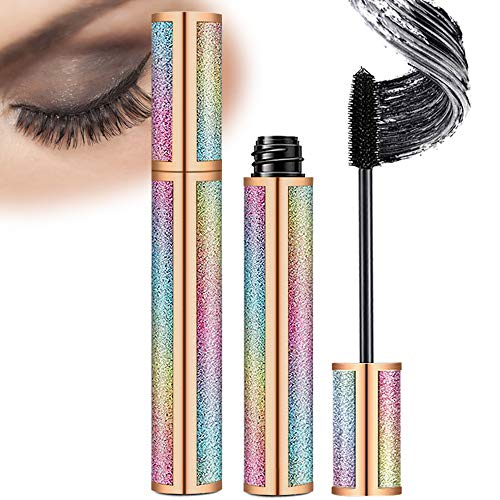 4D Silk Fiber Lash Mascara Natural Waterproof Lengthen Long Lasting Lashes Mascara