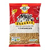 24 Mantra Organic Coriander Seed 100g / 3.5 Oz (Pack of 2)
