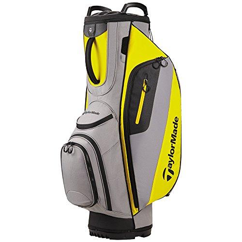 TaylorMade Cart Lite Golf Bag Gray/Yellow