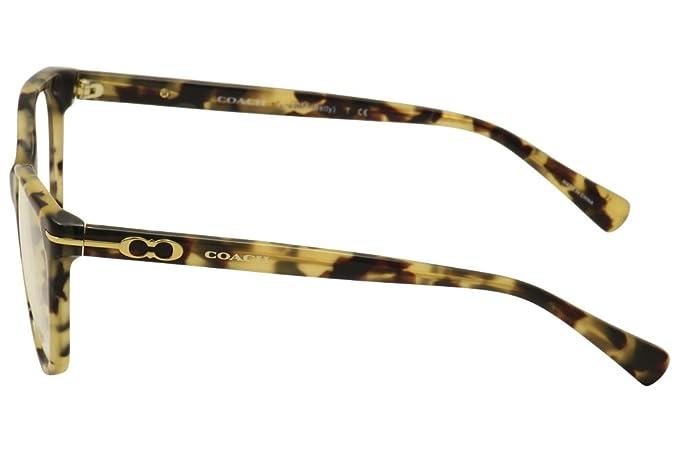 d2365500bf Coach Betty Eyeglasses HC6056 5093 Dark Vintage Tortoise 51 17 135   Amazon.ca  Clothing   Accessories