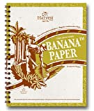 8x11 - Tree-free paper Wirebound Notebook Banana™ Paper