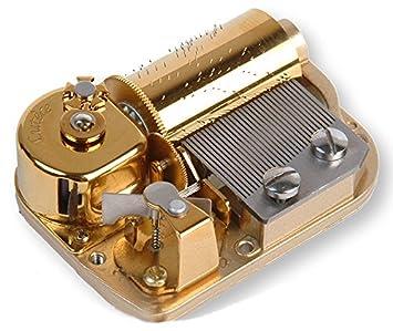 Mecanismo musical de resorte de 30 láminas para caja de música - Piratas del Caribe - Tema de Davy Jones (Hans Zimmer): Amazon.es: Instrumentos musicales