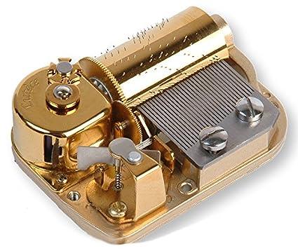 Mecanismo musical de resorte de 30 láminas para caja de música - Piratas del Caribe -